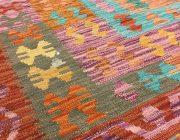 Einfache Muster dominieren bei Kelims/Foto: www.punktgenau-kreativschmiede.de