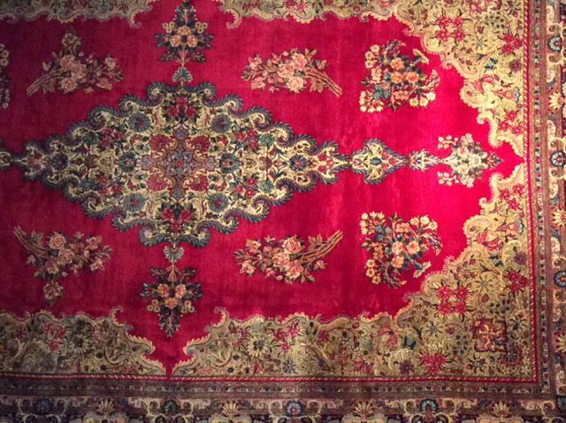 Beispiel eines Kerman-Teppichs, Foto: Makhdokht Farhadian, www.1001nachthamburg.de