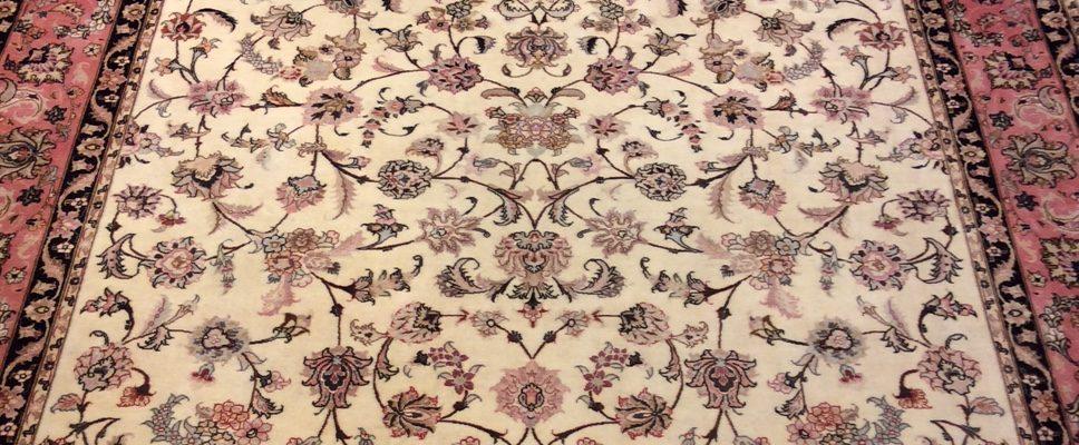 Beispiel eines Täbriz-Teppichs, Foto: Orient Teppich Palais 1001 Nacht/1001nachthamburg.de